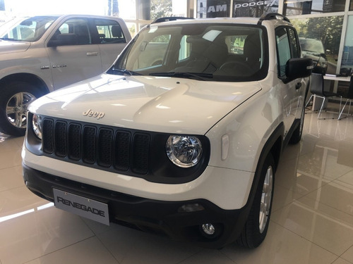 jeep renegade sport 1.8l at6  - veni a probarlo - tomamos pp