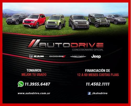 jeep renegade sport 2017 0km color negro autodrive devoto