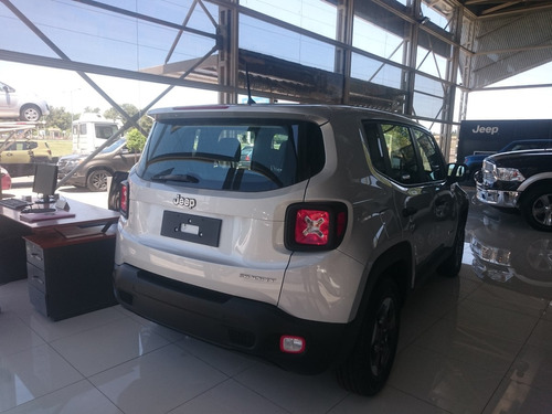 jeep renegade sport 2017 0km contado- financiado entrega ya!