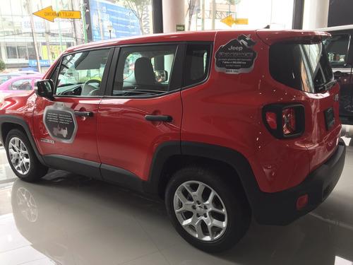 jeep renegade sport 2017 nueva, precop flotilla
