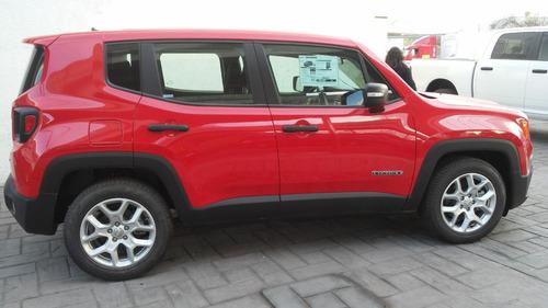 jeep renegade sport 2018 ¡desde 10% de enganche!