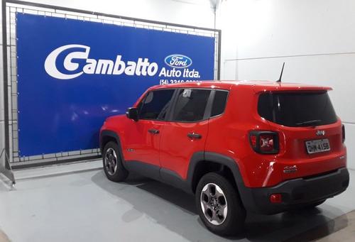 jeep renegade sport 4x4 diesel 2016 vermelha
