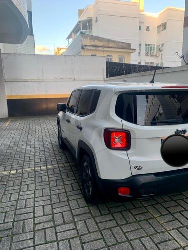 jeep renegade - sport - automático - 1.8 - branco - 2016