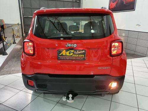 jeep renegade sport flex 1.8 aut couro midia rd16 53000 km
