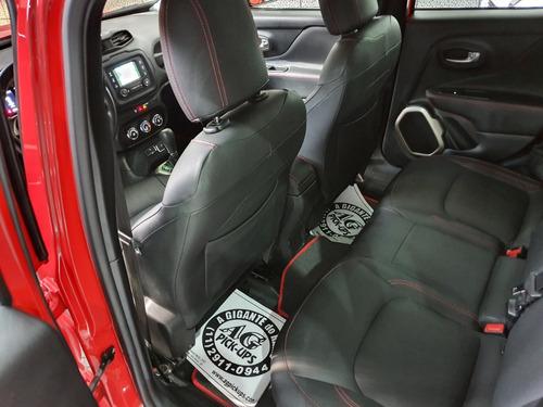 jeep renegade sport flex 2016 vermelho 1.8 aut couro midia