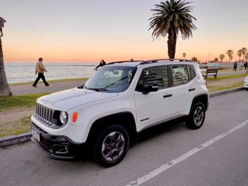 jeep renegade sport impecable - único dueño - hiperfull suv
