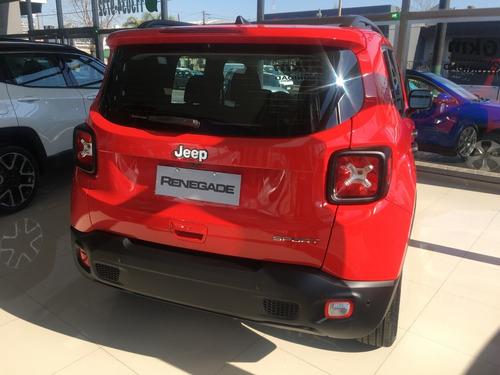 jeep renegade sport manual 1.8 0km 2020 4x2 nuevo automatico