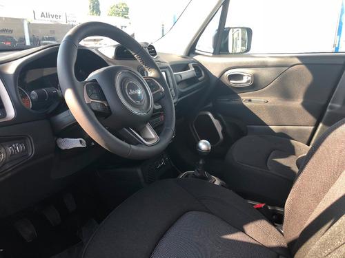 jeep renegade sport manual 1.8 4x2 2018 0km nuevo rojo