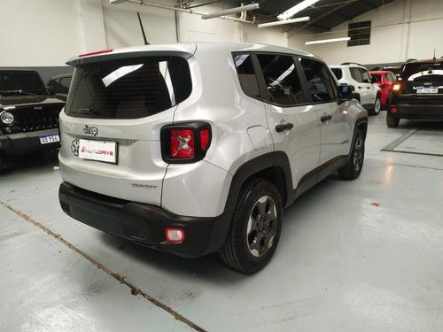 jeep renegade sport manual con cuero  2016