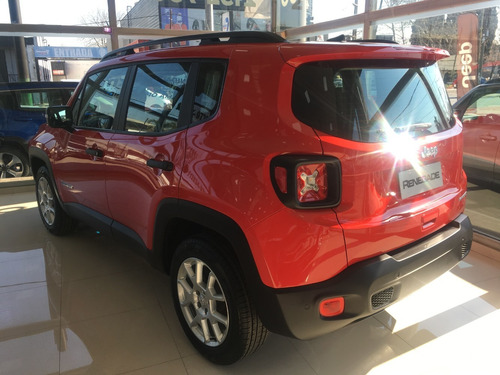 jeep renegade sport manual rojo 0 km 2020