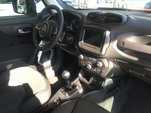 jeep renegade sport manual rojo 0 km 2020 negro