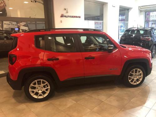 jeep renegade sport mt 2020 inmediata