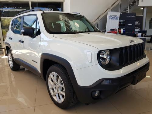 jeep renegade sport mt/5 blanca  2019