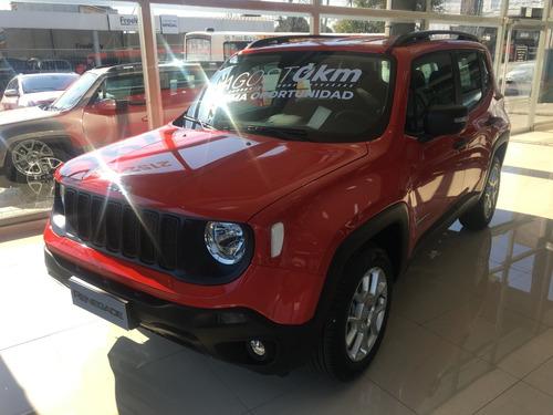 jeep renegade sport mt/5 rojo 0 km 2019