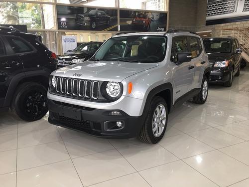 jeep renegade sport my18  anticipo y cuotas