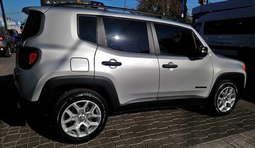 jeep renegade sport plus 1.8 4x2 automática nueva 0km 2018