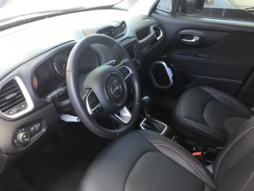 jeep renegade sport plus 1.8  aut 2020 rojo colorado + cuero
