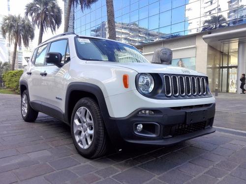 jeep renegade sport plus 1.8l 0km madero motors