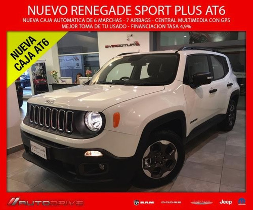 jeep renegade sport plus 6at cash hoy!!!