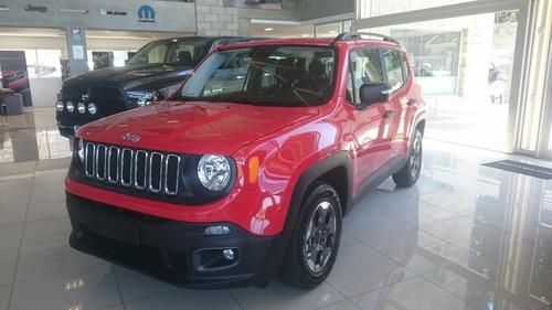 jeep renegade sport plus autom 2017 efvo y/o cuotas