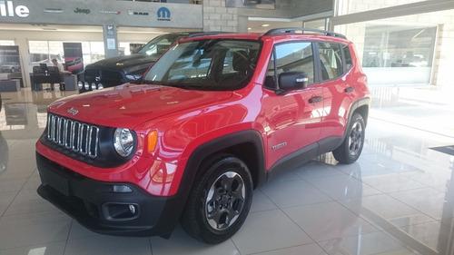 jeep renegade sport plus automatica 2017 efectivo