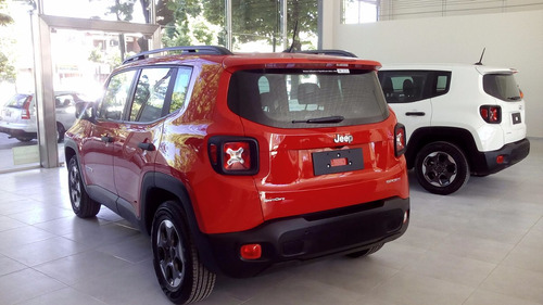 jeep renegade sport plus automático 0km sport cars la plata
