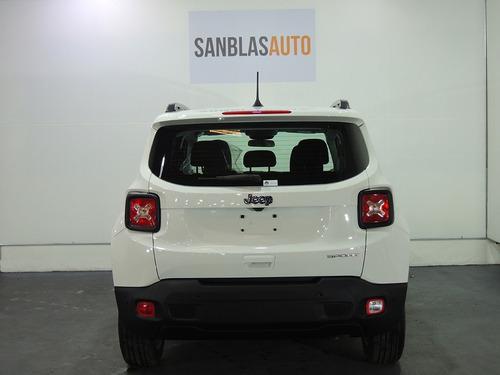 jeep renegade sport plus mt 0km sensor gps usb san blas auto