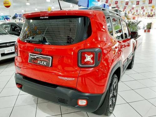 jeep renegade trailhawk 2.0 4x4 turbo diesel aut 2016 vermel