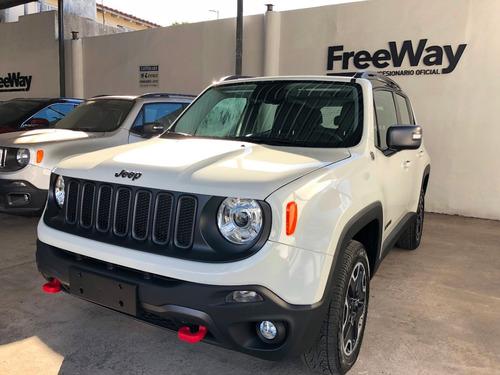 jeep renegade trailhawk 2.0 diesel 4x4 nueva 0km 2018 blanca