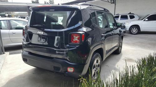 jeep renegade1.8 sport  linea 2018 4wheelsautos
