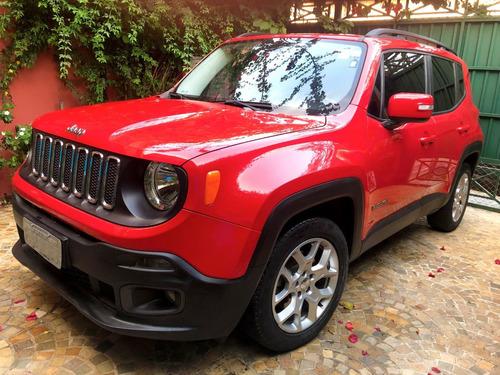 jeep renegate longitude flex 1.8 (aut)- 2015 modelo 2016