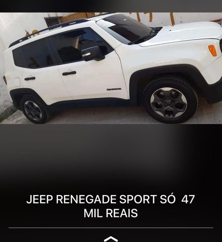 jeep renegate sport 2016 - flex/kit gás