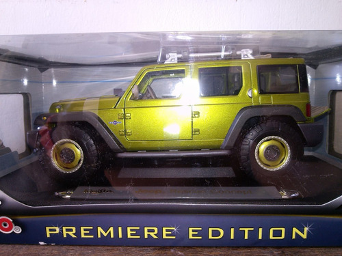 jeep rescue concept  escala 1/18