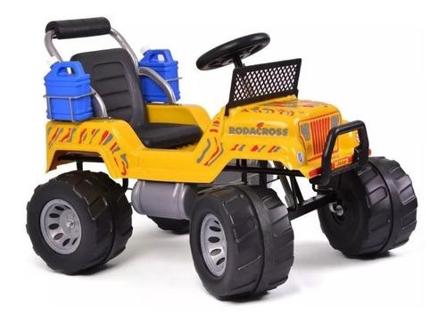 jeep rodacross explorator a pedal suspensión 3 a 6 años b1