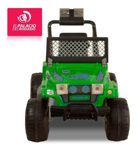jeep rodacross wrangler electric bateria 12v 2vel 5 a 7 años