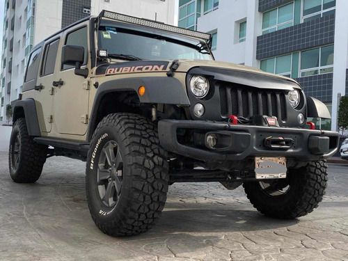 jeep rubicon edición recon 2017