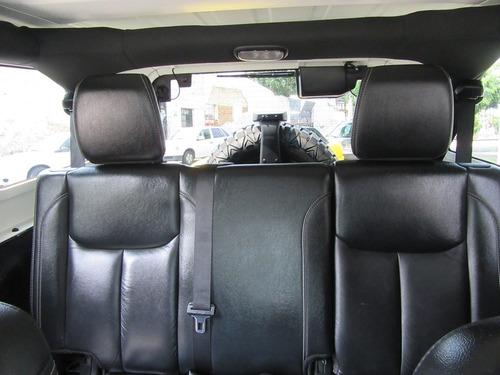jeep rubicon unlimited x 2014 negro piel