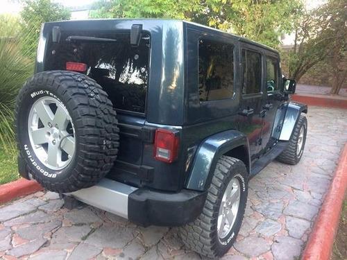 jeep sahara wrangler unlimited 4x4 mod. 2008 (sin cambios)