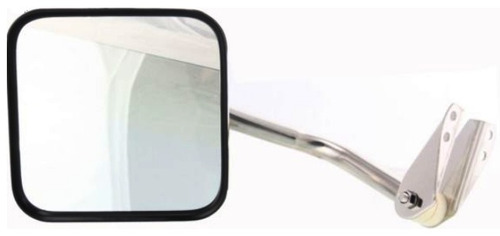 jeep scrambler 1981 - 1985 espejo manual izquierdo cromado
