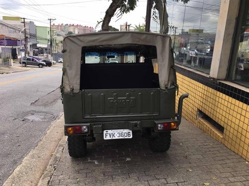 jeep toyota bandeirante diesel4x4 willys troller l200 hilux