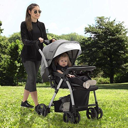 jeep unlimited reversible grey coche paseador bebe