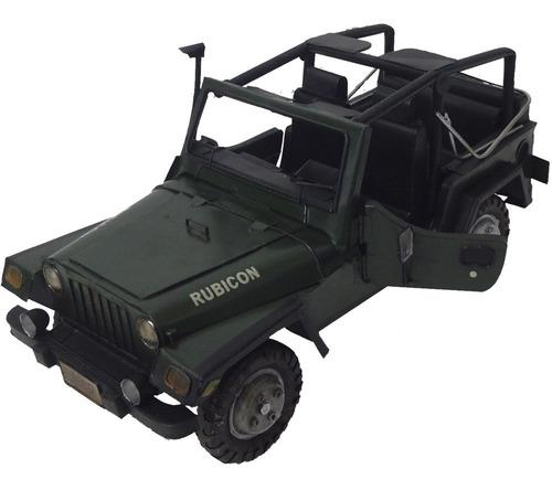 jeep vintage miniatura militar veiculo exercito militares