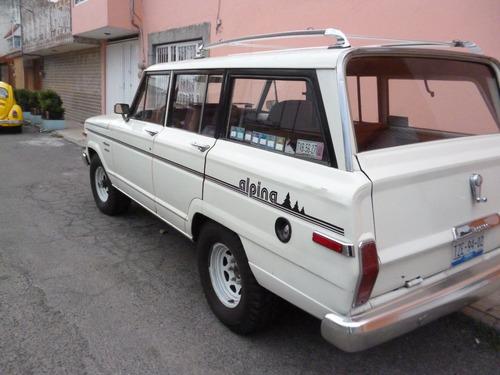 jeep wagoneer alpina 1986 totalmente original