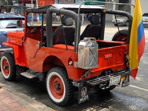jeep willis 4x4 1954