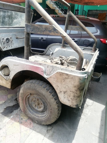 jeep willy sin motor - con placas y tp -1962