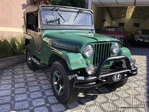 jeep willys - 1973