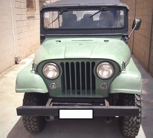 jeep willys 4 portas placa preta bernardão