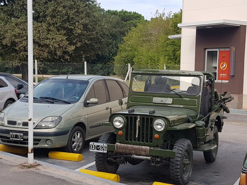 jeep willys 4x4 cj 2 a