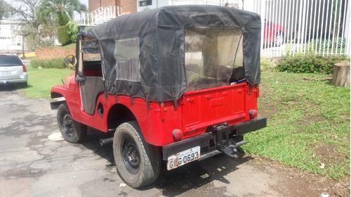 jeep willys 59 - pra vender