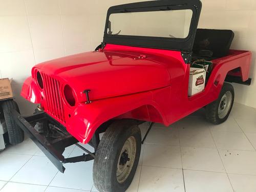 jeep willys 6 cil restaurado precisa montar placa mercosul